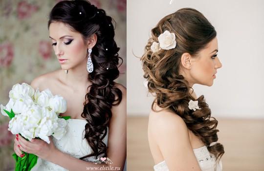 Свадебные прически на длинные волосы - 250 актуальных фотографий 4