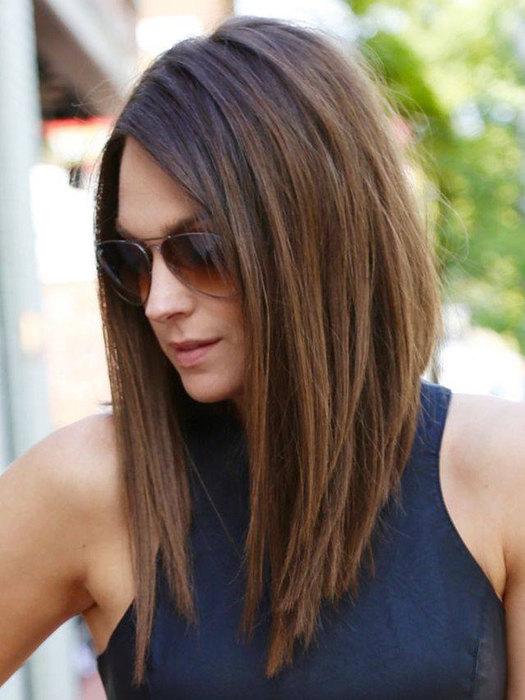 стрижка фото на длинные волосы фото