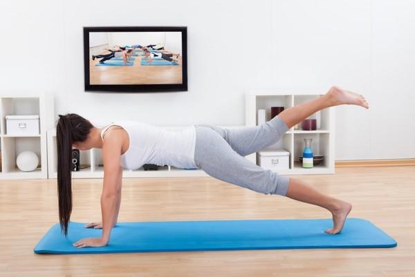 Фитнес-уроки дома для похудения