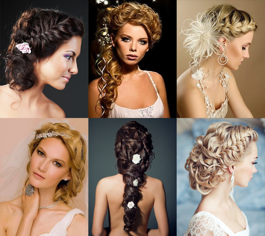 Плетение в греческих причёсках