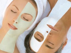 Крахмальные маски