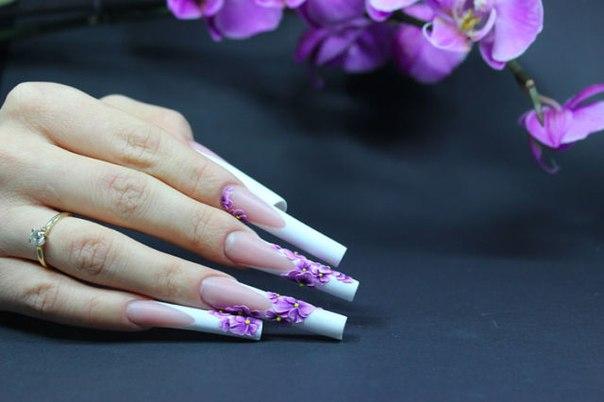 Дизайн арочных ногтей