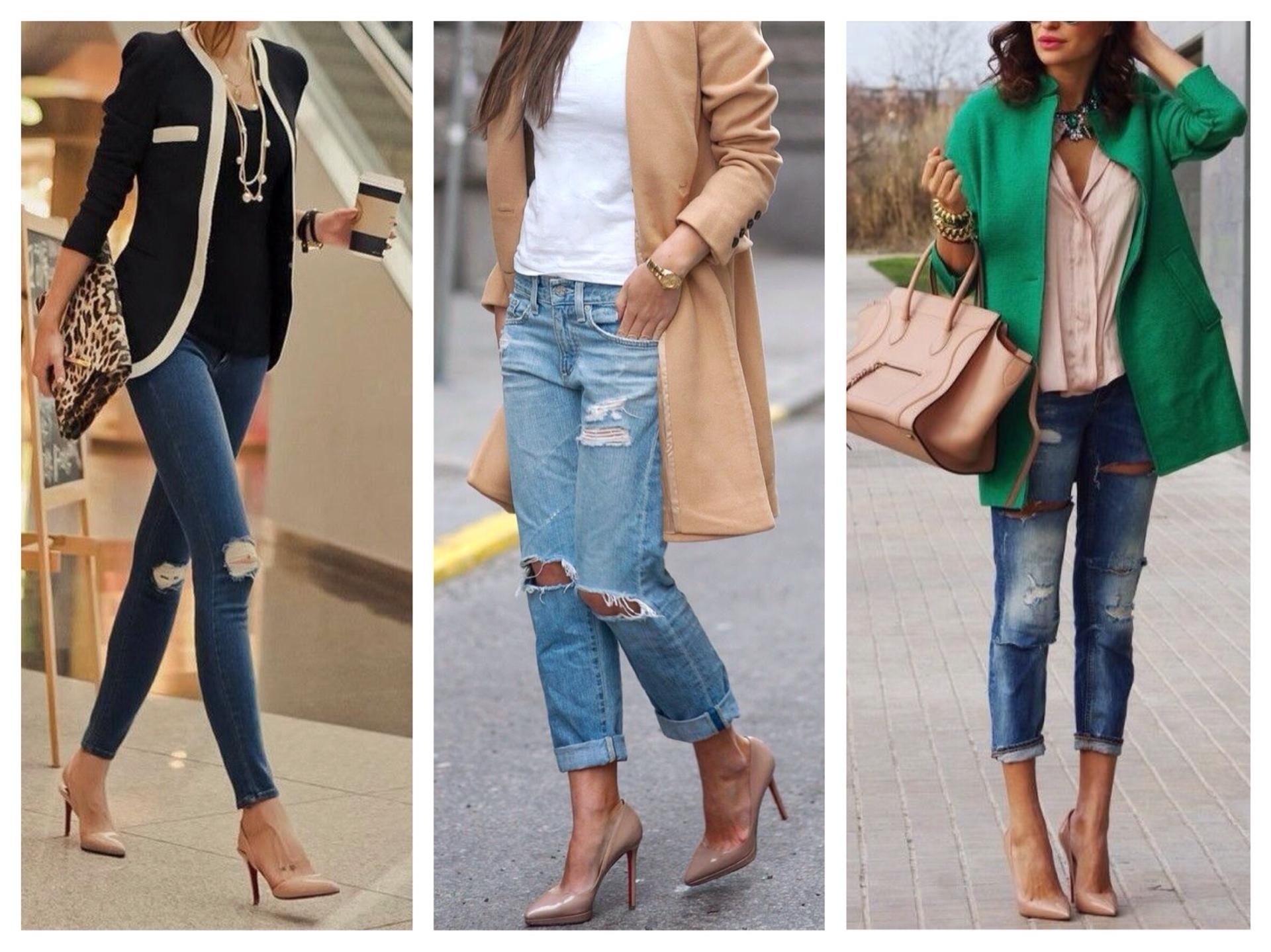 Лодочки и туфли