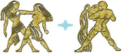 Мужчина-Близнецы и Женщина-Водолей