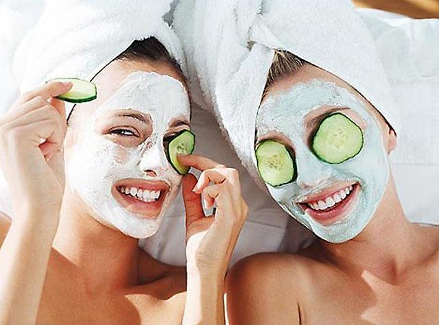 Уход за кожей лица в салоне красоты