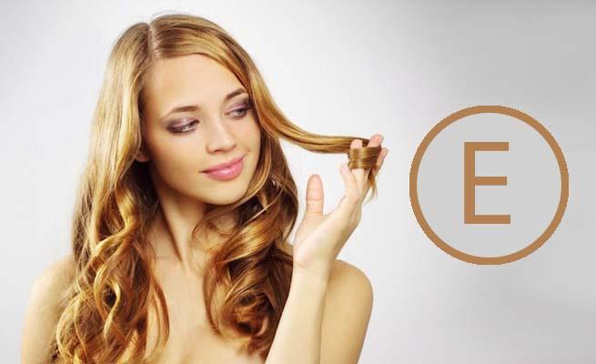 Маска для волос с витамином Е