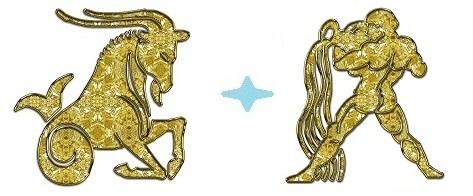 Козерог-мужчина и Водолей-женщина
