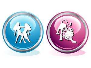 Мужчина-Близнец и Женщина-Лев