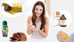 Используем маски для волос с витамином А и Е правильно!