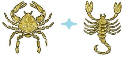 Леди-Скорпион и Рак-джентльмен
