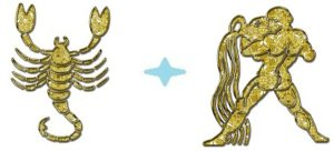Мужчина-Скорпион и женщина-Водолей