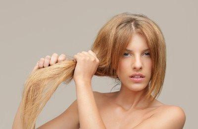 Маска против ослабленности волос