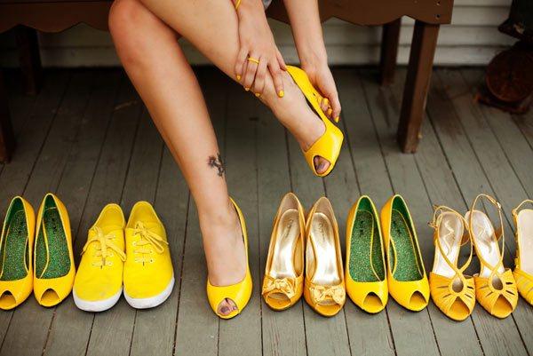 Жёлтый цвет: кому он подходит?