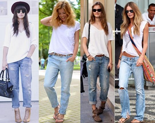Выбираем майки к джинсам бойфрендам