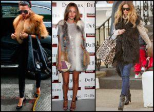 Как правильно носить жилет из меха?