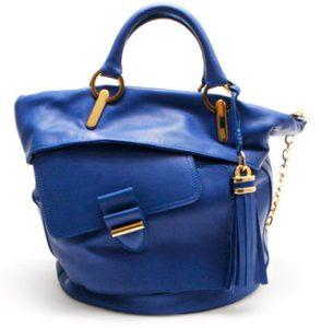 Цена синей сумки
