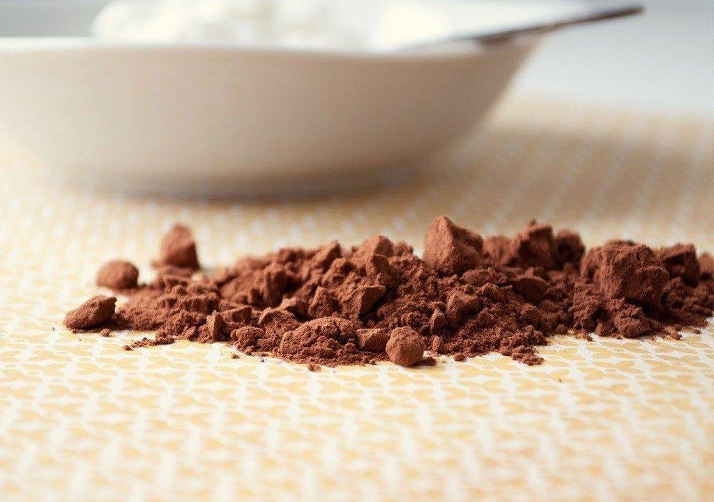 Маска на основе какао для тонировки волос