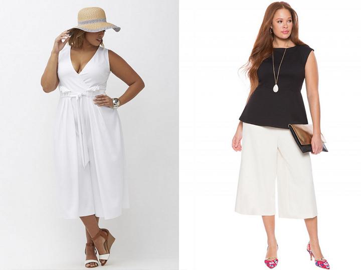 Летняя мода 2017 для полных женщин