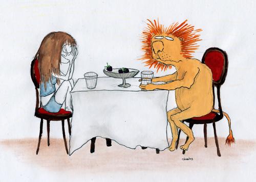 Женщина-Львица и мужчина-Дева
