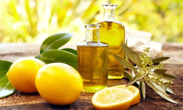 Маска для тонких и бледных волос на основе масла и лимона