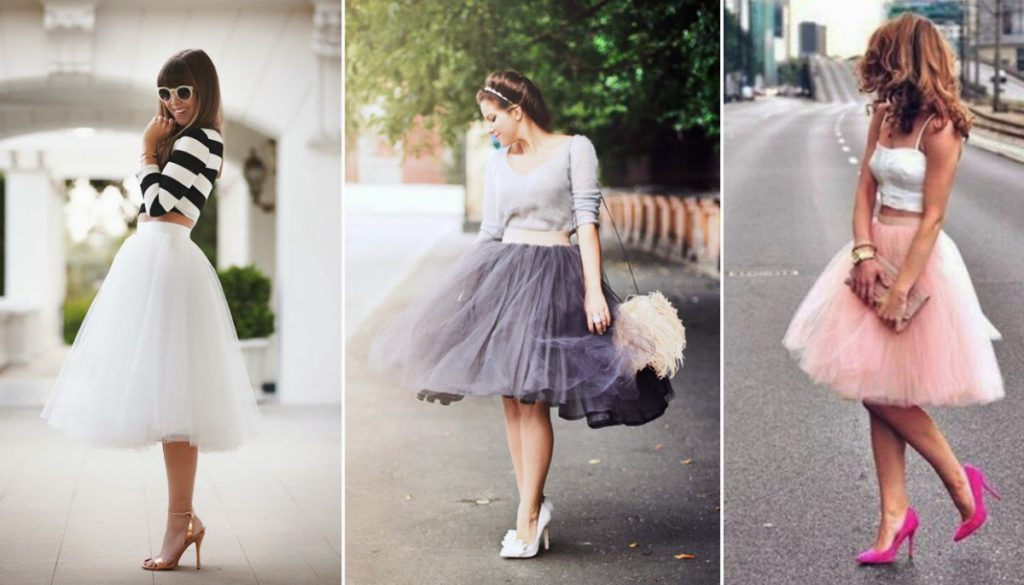 Фатиновая юбка на все случаи жизни