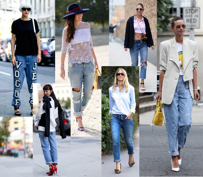 Мини-кофты, макси-свитера и джинсы бойфренды