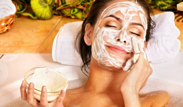 Сметанная маска для сухой кожи