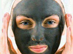 Маска из желатина и активированного угля от чёрных точек: рецепт