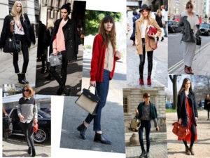 Ботинки челси женские с чем носить, фото