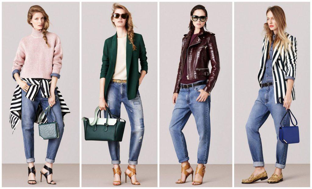 С чем носить бойфренды джинсы