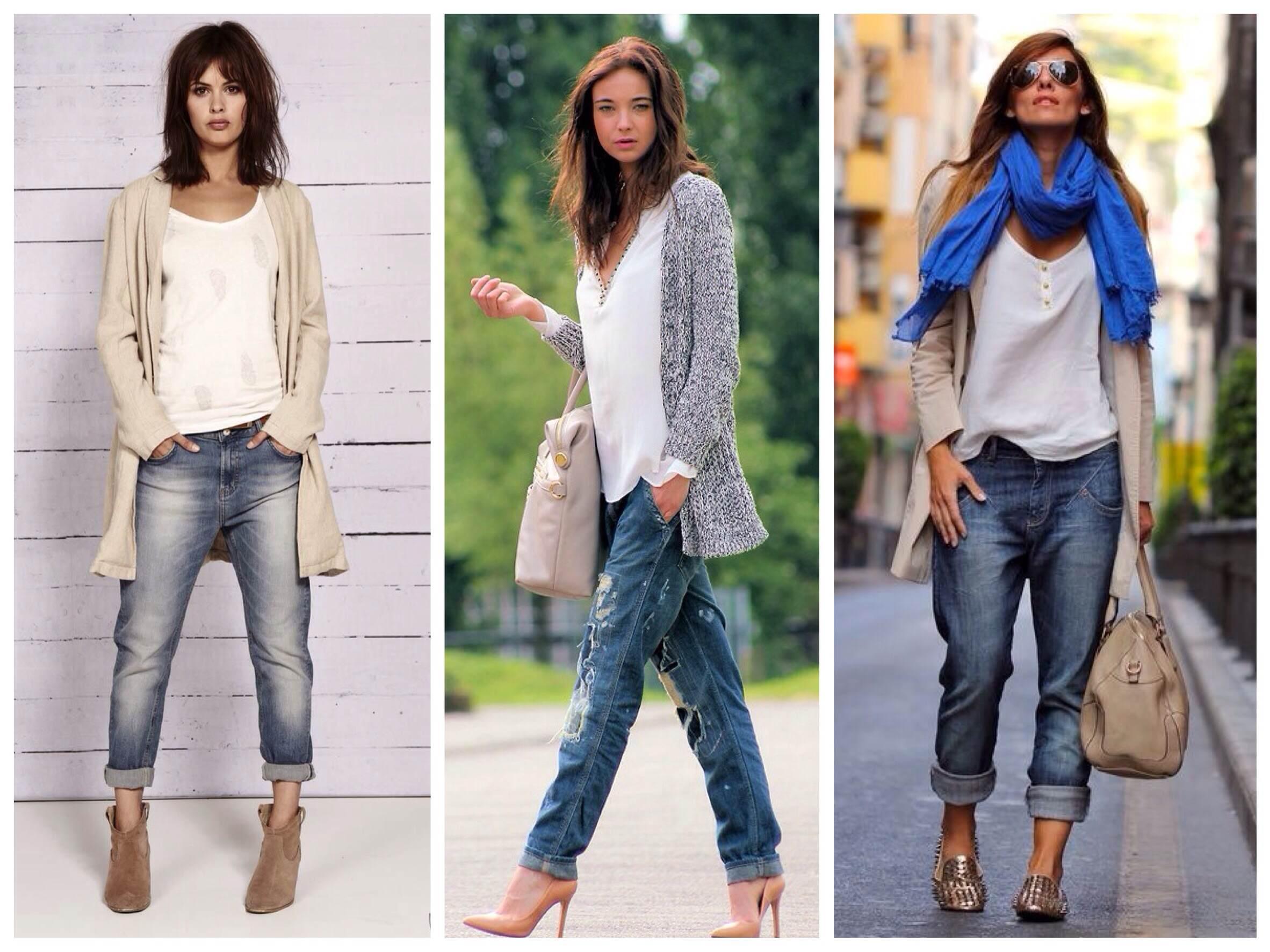 фото кардиган с джинсами