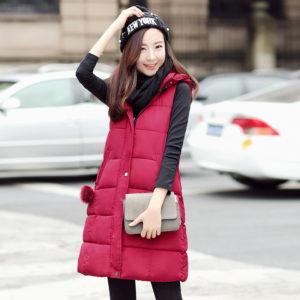 С чем носить жилет без рукавов тёплый?