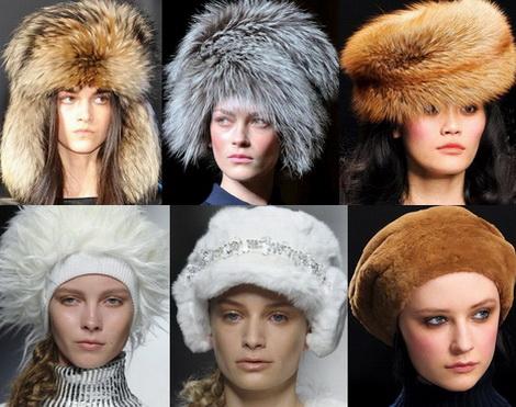 Правила выбора меховой шапки