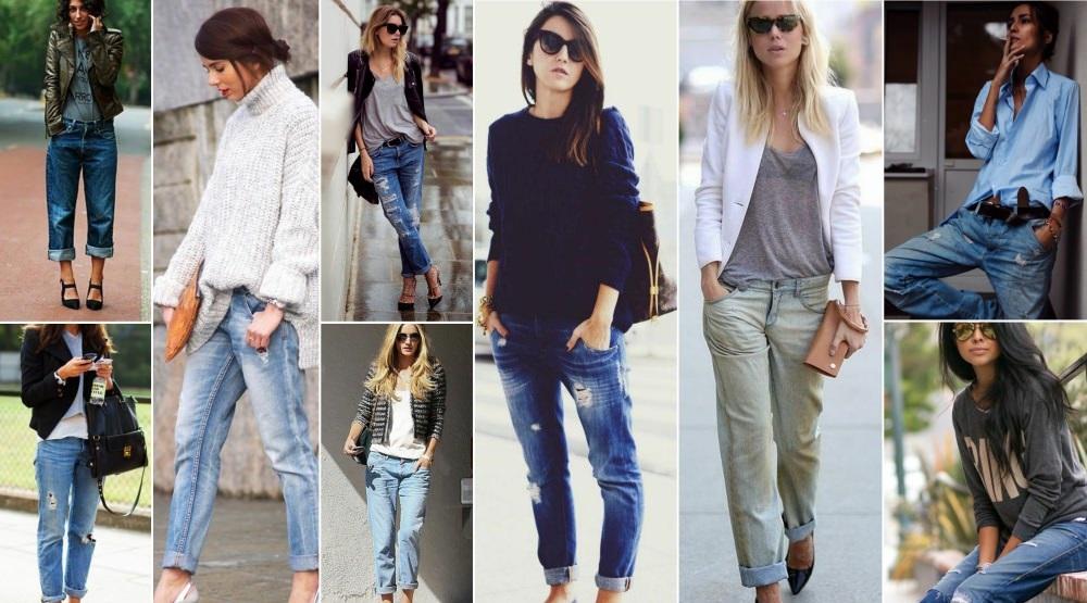 Подбираем подходящий наряд к джинсам-бойфрендам