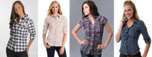 Женская рубашка в клетку: с чем носить классические фасоны?