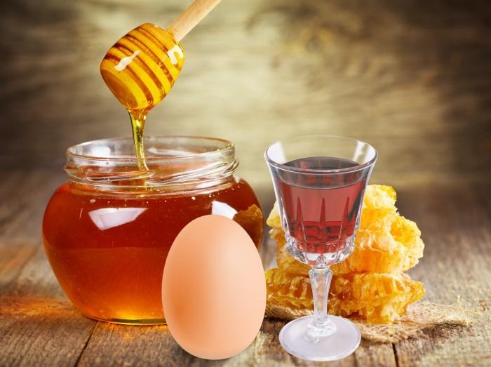 Мёд и коньяк в маске для волос