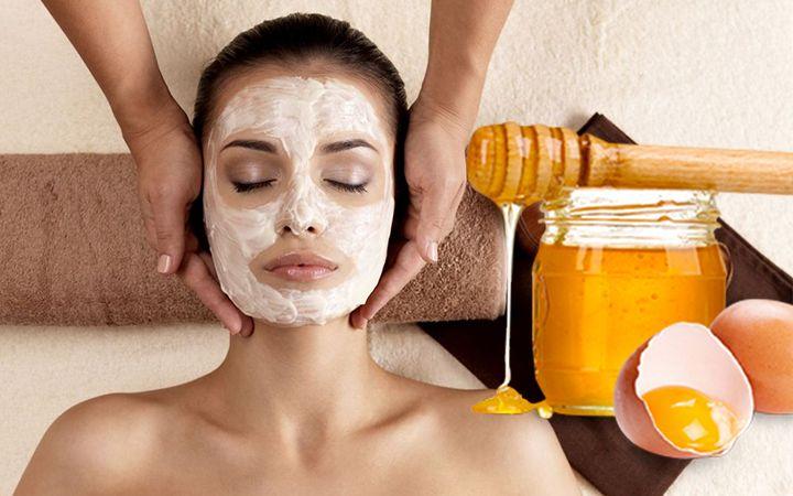 Яично-медовая маска