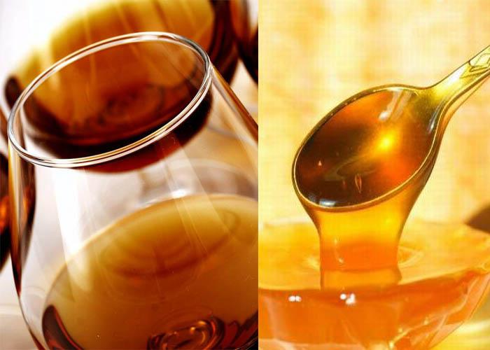 Маска для волос с коньяком и мёдом от выпадения волос