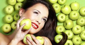 Яблочная маска