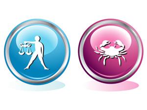 Мужчина-Рак и Женщина-Весы