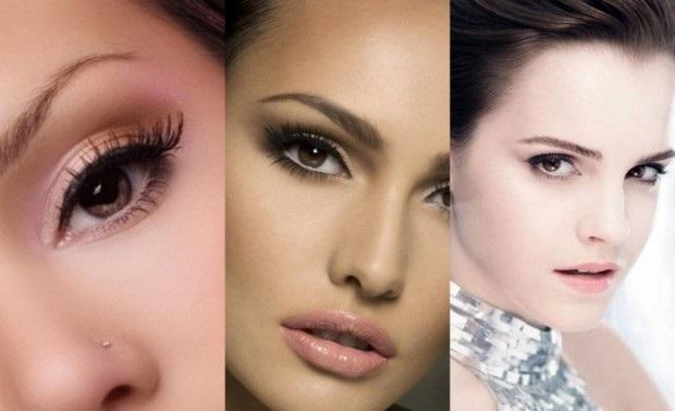 Естественный макияж на каждый день для кареглазых девушек