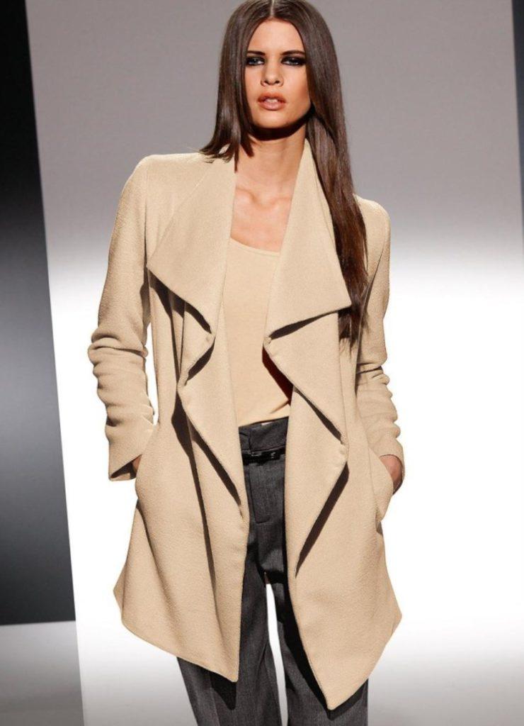 Пальто-кардиган и лёгкое пальто