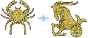 Мужчина-Козерог и женщина-Рак