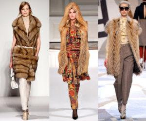 С чем носить меховую жилетку из лисы?
