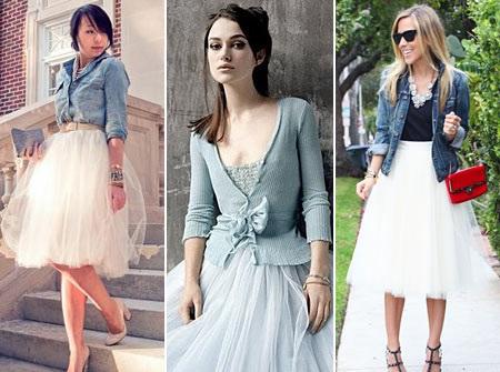 Как выбрать подходящую фатиновую юбку