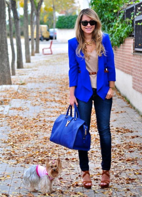 Почему стоит выбрать синюю сумку?