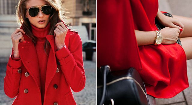 В каком возрасте можно надевать красное пальто?