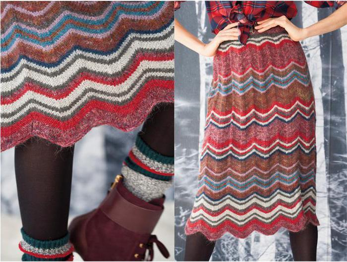 Выбираем вязаную юбку!
