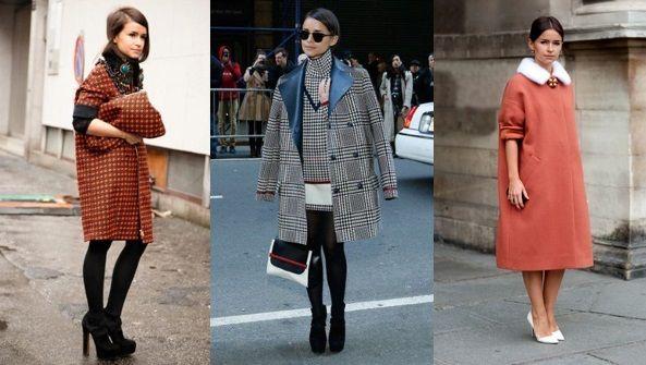 С какой обувью носить пальто оверсайз?