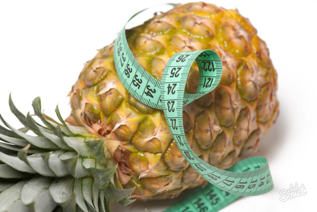 Ананасовая диета для похудения: меню на ананасах, отзывы, рецепты.